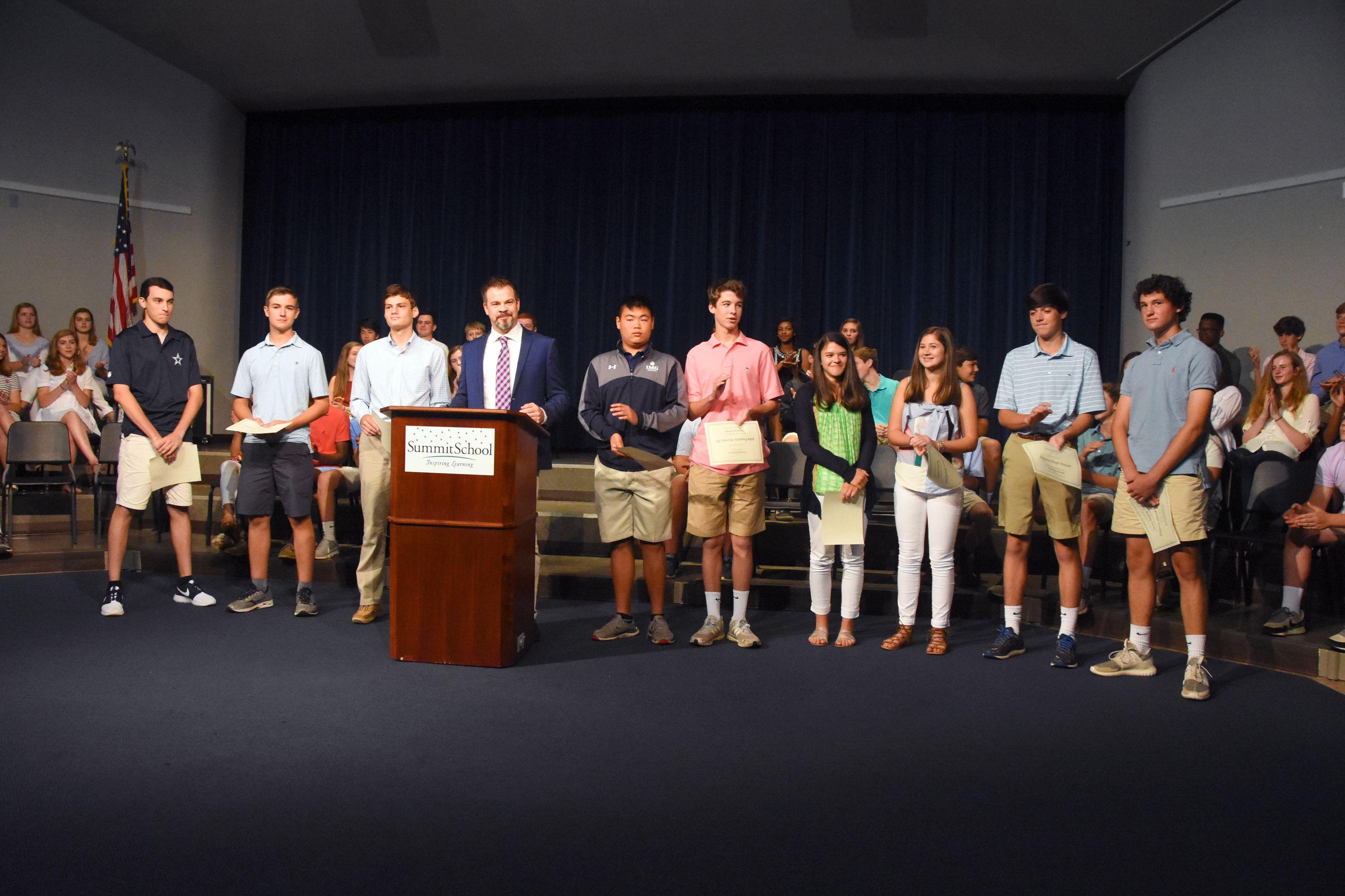 9th Grade Awards