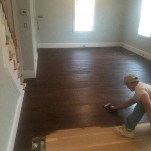 Original Hardwood Floors Sanded