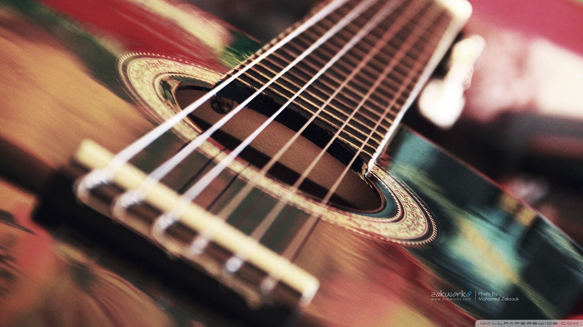 Acoustic Guitar HD desktop wallpaper Widescreen High