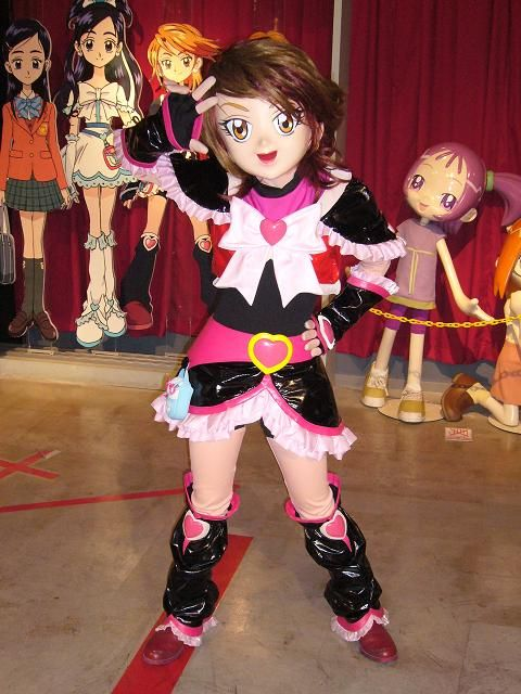 Cure Black from Pretty Cure Anime Kigurumi Cosplay ...