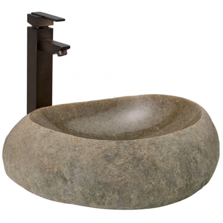 Henson Hand Glazed Vessel Sink Teal Lavello Del Bagno A