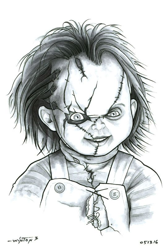 Chucky By Byronwinton Deviantart Com On Deviantart With Images