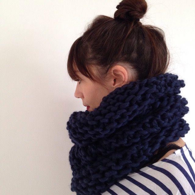 très convoité gamme de choisissez le dégagement Couleurs variées huge snood   Tricoter, knit.   Capots tricotés, Capot ...