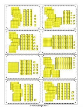 Base Ten War To 1000 A Place Value Game Aulas De Matematica Conteudos De Matematica Desafios De Matematica