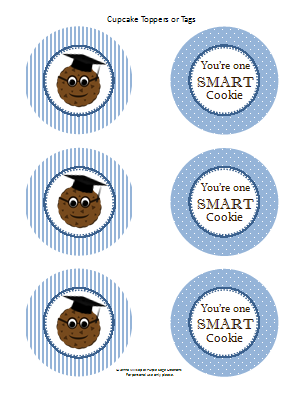 Your one smart cookie free graduation party pack printables your one smart cookie free graduation party pack printables negle Images