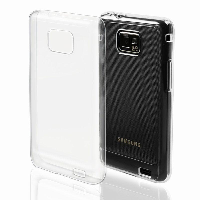 cover samsung galaxy s2 plus in silicone