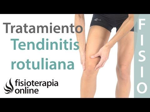 como aliviar dolor de tendon rotuliano
