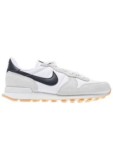 uk availability 58259 5b36e ... real nike sportswear internationalist sneaker für damen grau 494fd fcc98