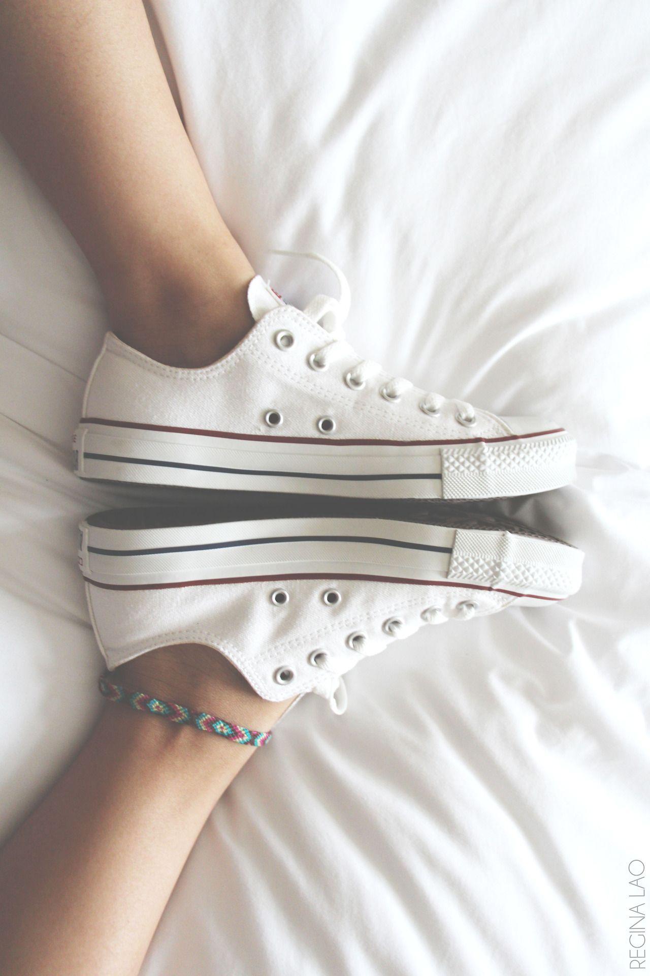 White converse, Fashion, Converse