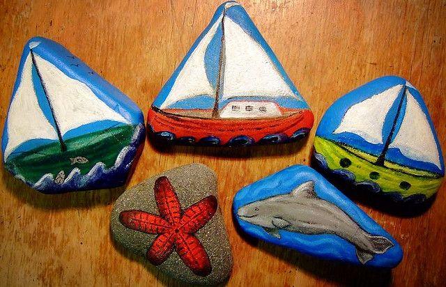 Painted Rocks Rock Crafts Painted Rocks Rock Painting Tutorial