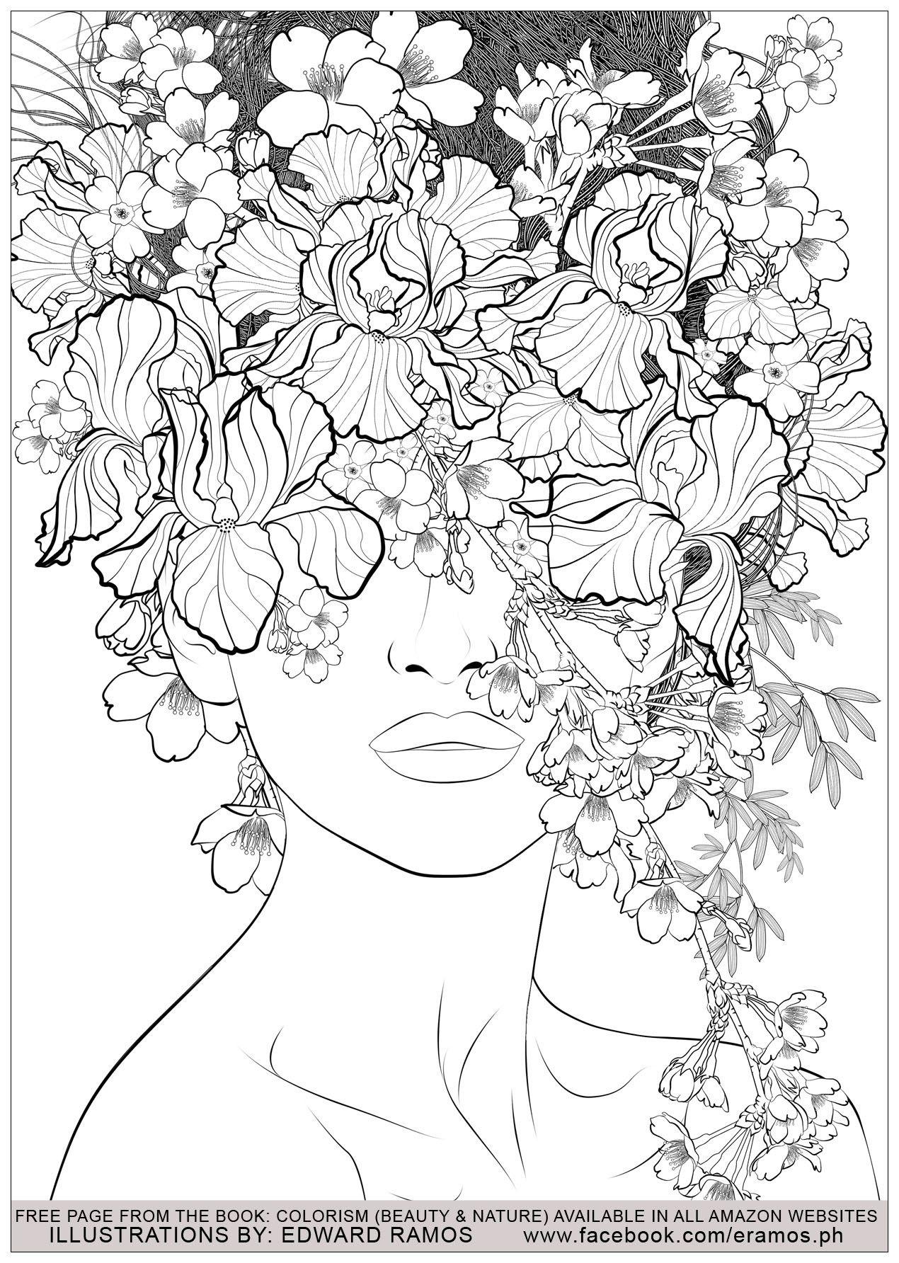 Disegni Fiori Da Colorare Per Adulti : disegni, fiori, colorare, adulti, Disegni, Colorare, Gratis, Adulti, Colorare,, Mandala, Libri