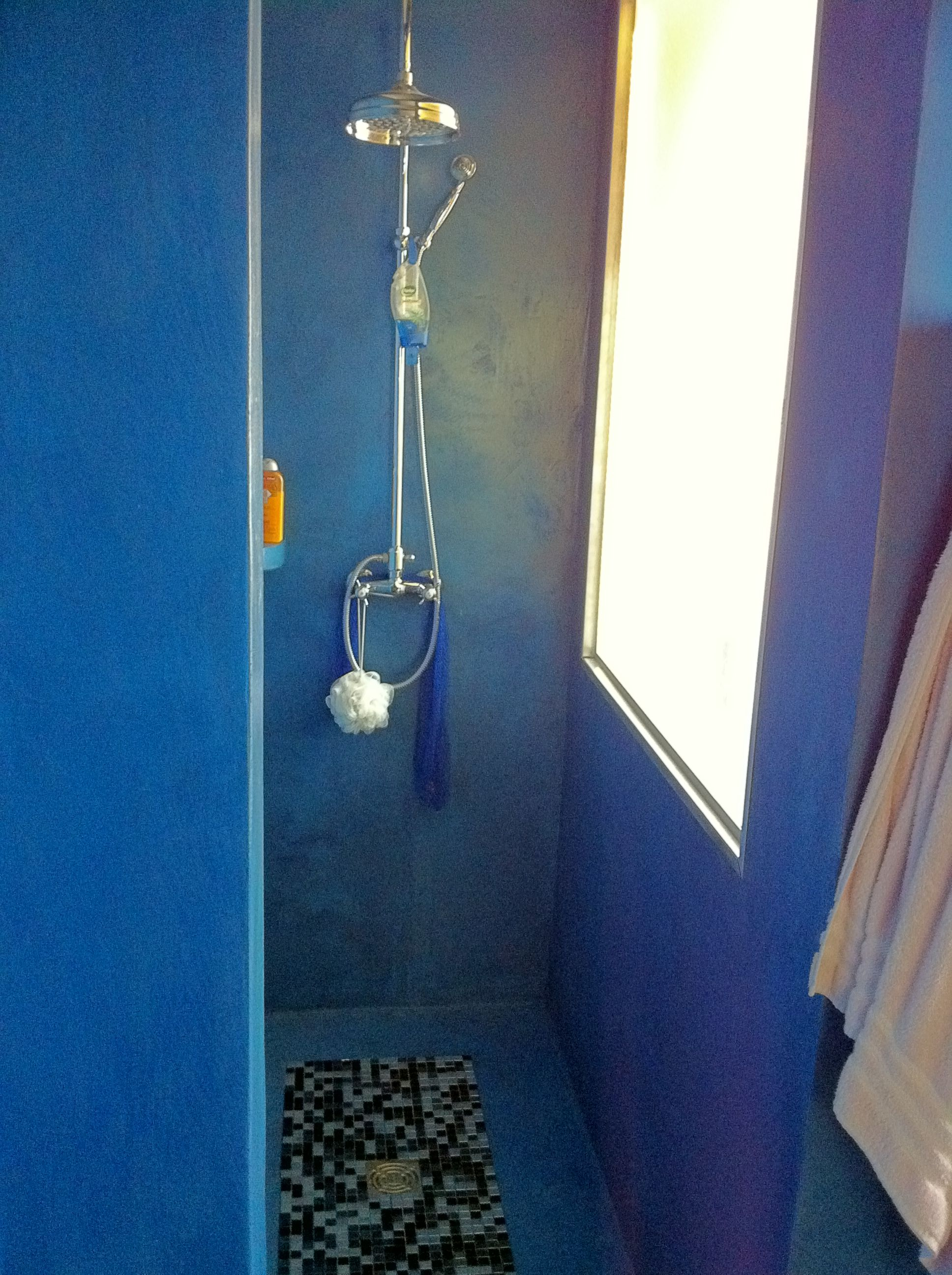 Micro Cement Wet Room Shower. Done A Few Years Back. Shower Outlet.