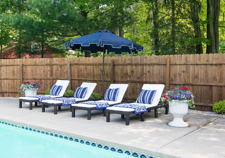 Stupendous Outdoor Furniture Splurge Vs Save Cottage Poolside Gmtry Best Dining Table And Chair Ideas Images Gmtryco
