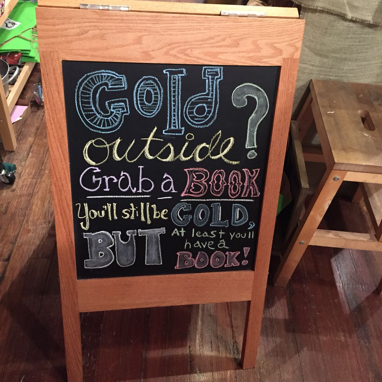 Bookstore Chalkboard Library Signs Book Jokes Book Display