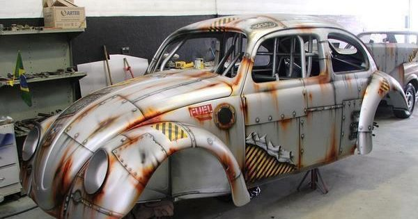 Steampunk Car Wrap Поиск в Google Steampunk Vw Cars