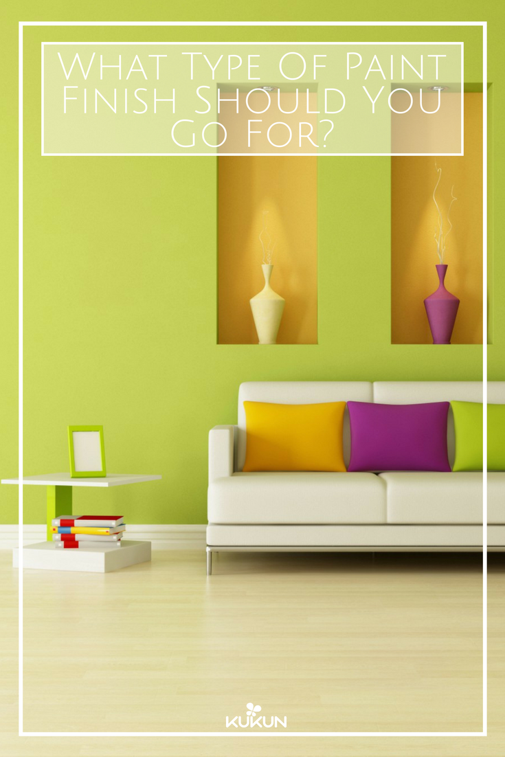 What Are The Major Types Of Paint Finishes For Interior Walls