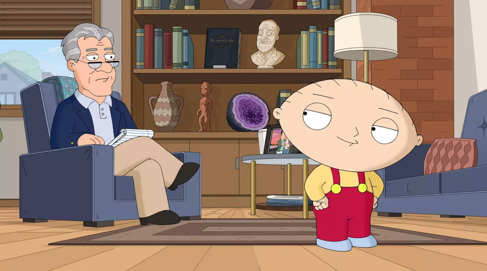 'Family Guy' Reveals What Stewie's Voice Actually Sounds
