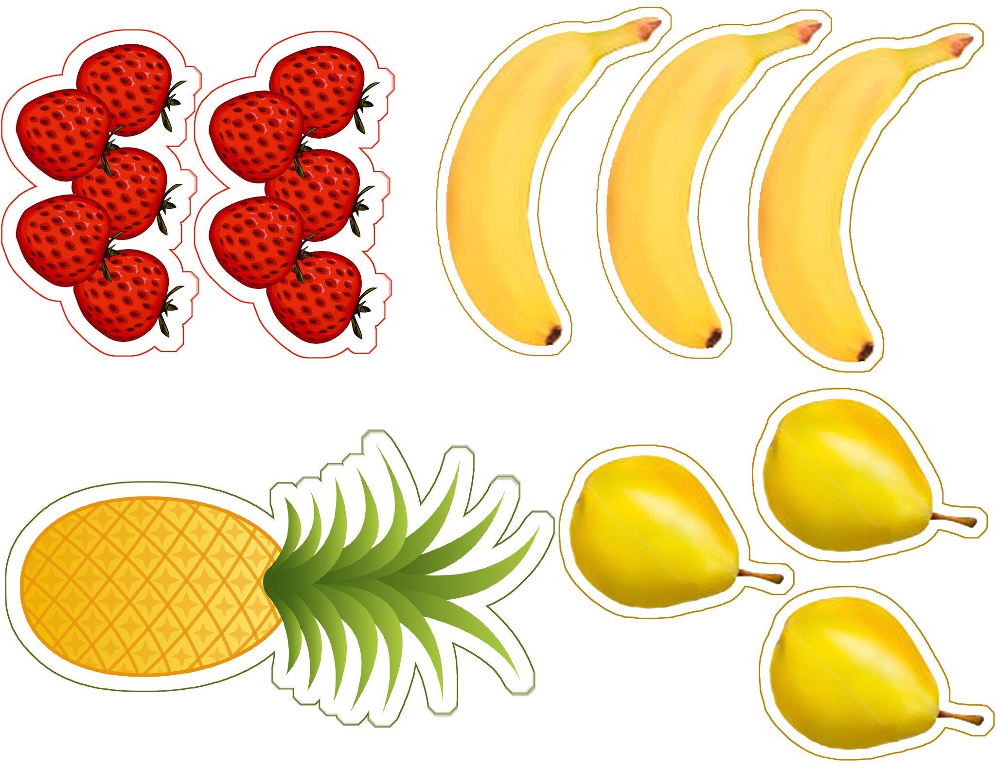 Vamos A Feira Imagens De Alimentos Para Imprimir E Recortar