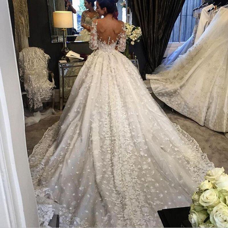 Item type wedding dresses train cathedral royal train