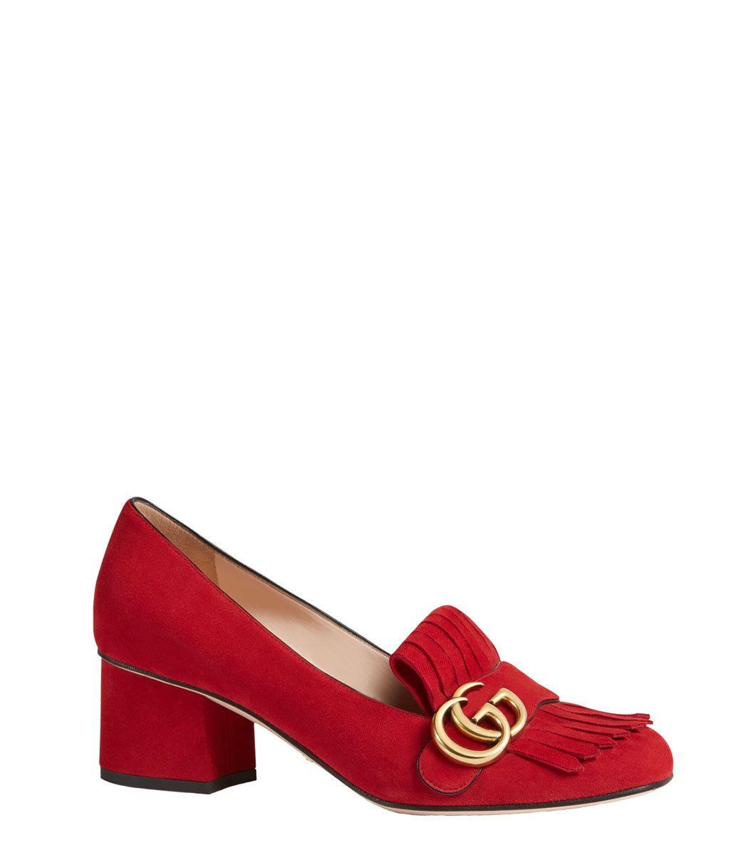 0702e39135b Gucci Red  Marmont  Pump