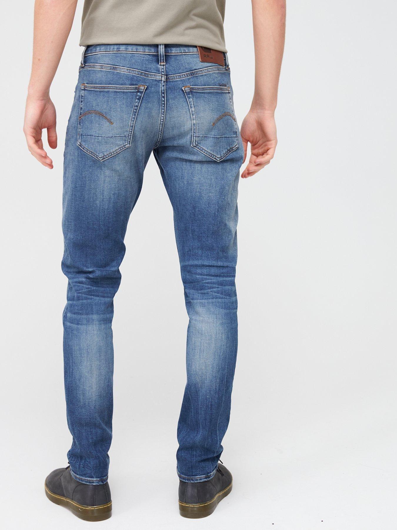 G Star Raw G Star 3301 Elto Super Stretch Slim Fit Jeans