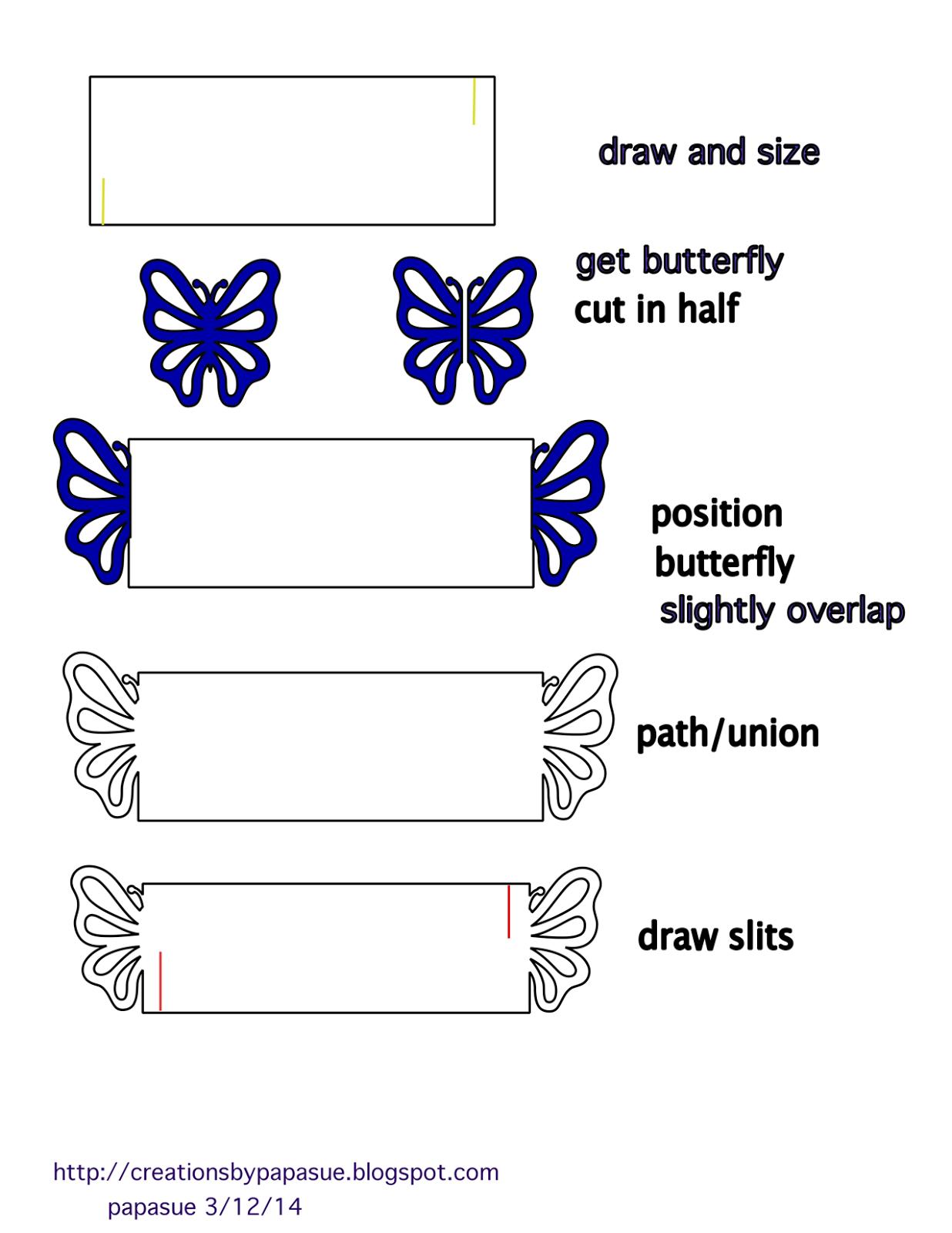 Papasue createshow to create butterfly napkin ring ball ideas papasue createshow to create butterfly napkin ring maxwellsz