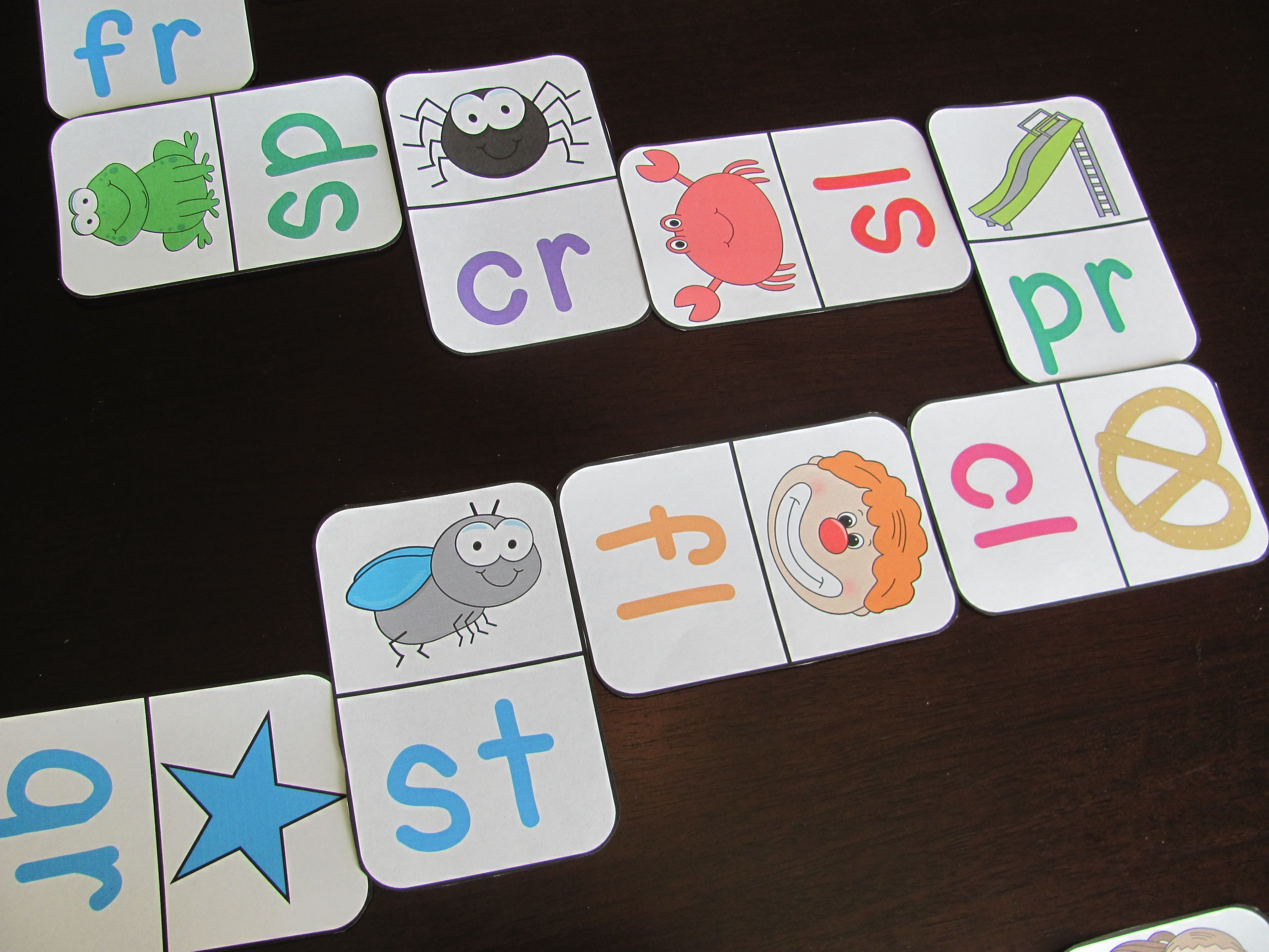 Blends Dominoes Literacy Station In