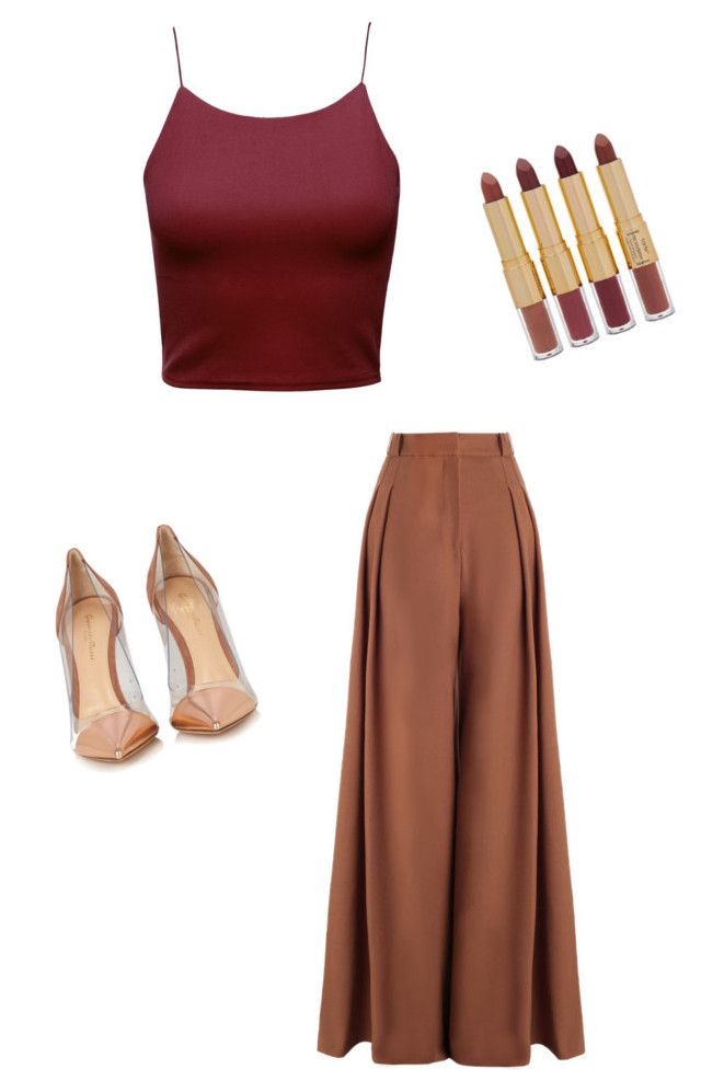 Edad Media 2 by zsmariana on Polyvore featuring polyvore, fashion, style, Zimmermann, Gianvito Rossi, tarte and clothing