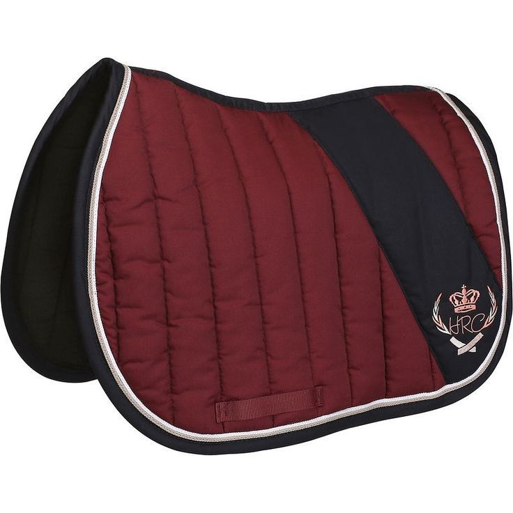 Saddle Pads Horse Riding - Jump Saddle Cloth - Burgundy FOUGANZA - Horse Riding,  #burgundy #...