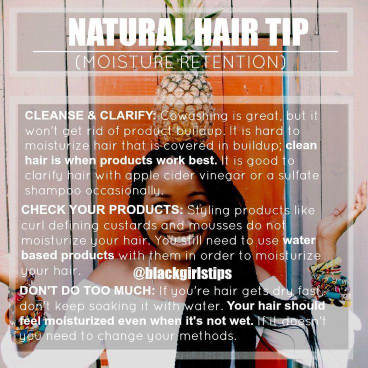 Hair care Ideas : blackgirlstips: Natural Hair Tip: Moisture... - Natural Hair Tips, Tutorials, ... - Beauty Haircut | Home of Hairstyle Ideas & Inspiration, Hair Colours, & Haircuts Trends #naturalhaircare