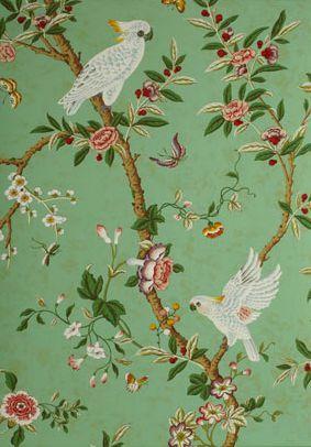 A Week's Worth of Wallpaper Ideas Victorian wallpaper