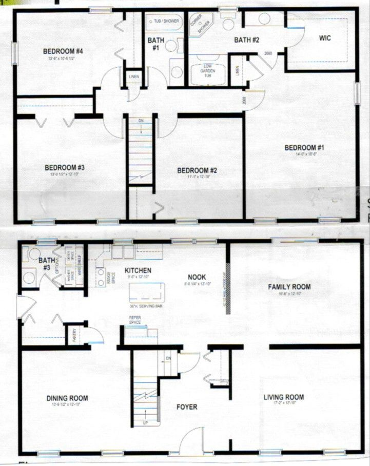 Two Story Home Designs Two Story House Plans Barndominium Floor Plans House Plans And More