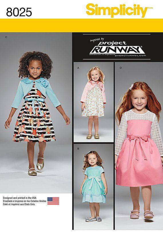 Little Girls\' Project Runway Dress Pattern Girls\' by blue510   Child ...