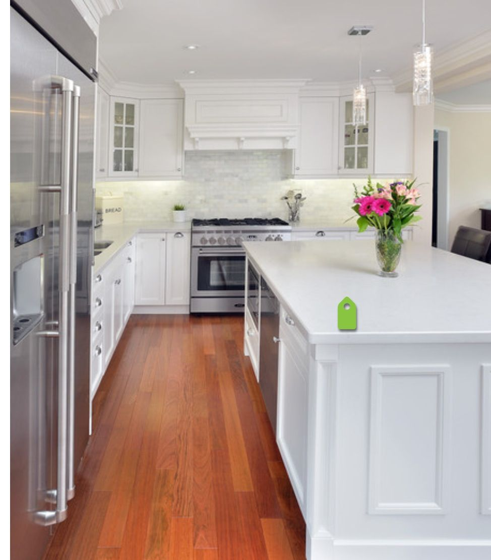quartz frosty carrina dream kitchen pinterest