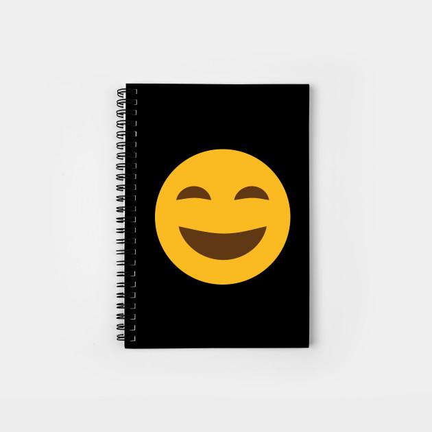 Happy And Laughing Emoji Emoji Spiral Notebook Teepublic Happy And Laughing Emoji Emoji Notebook Teepublic Emoji Notebook Spiral Notebooks Sp