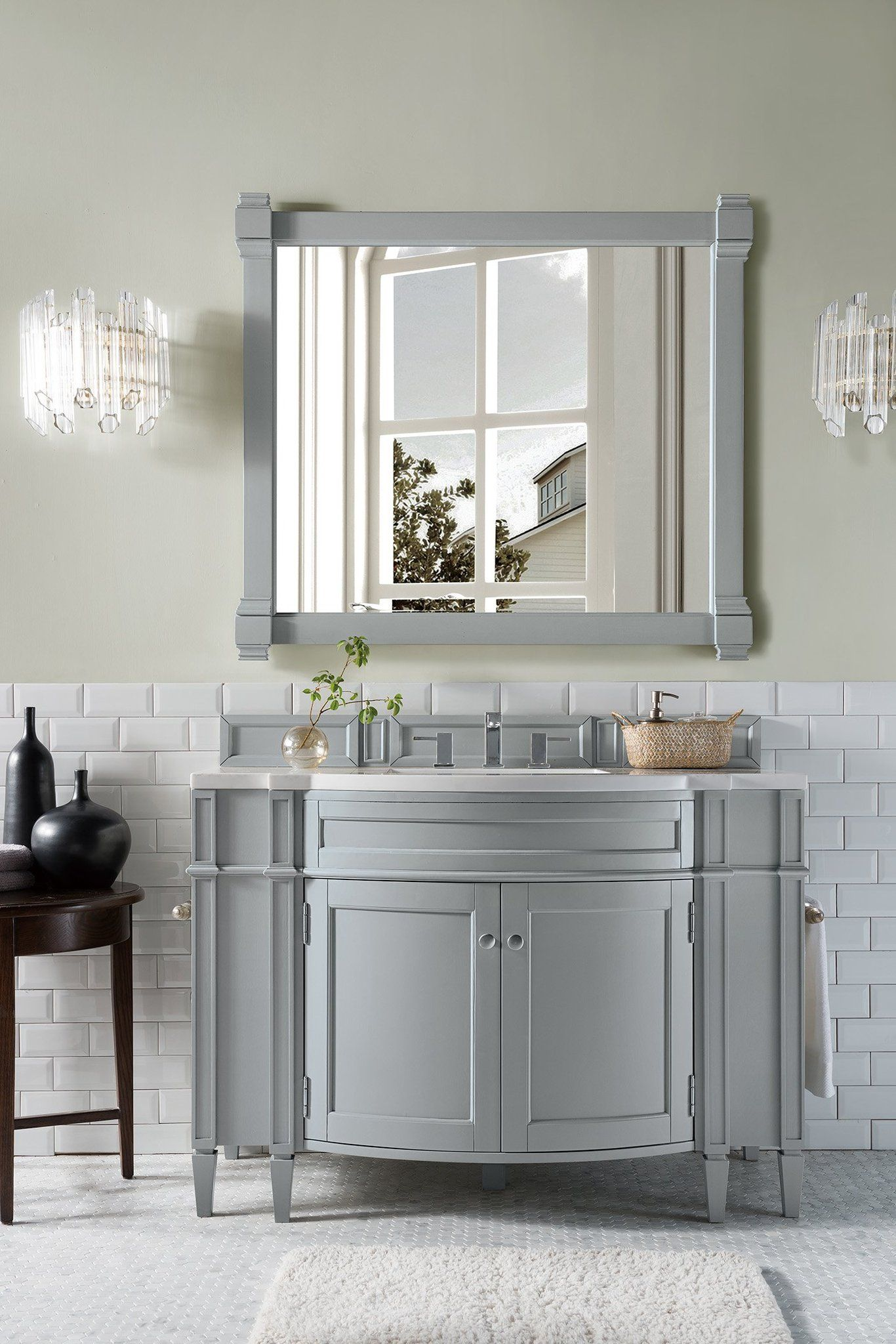 Brittany 46 Single Bathroom Vanity With Images Modern