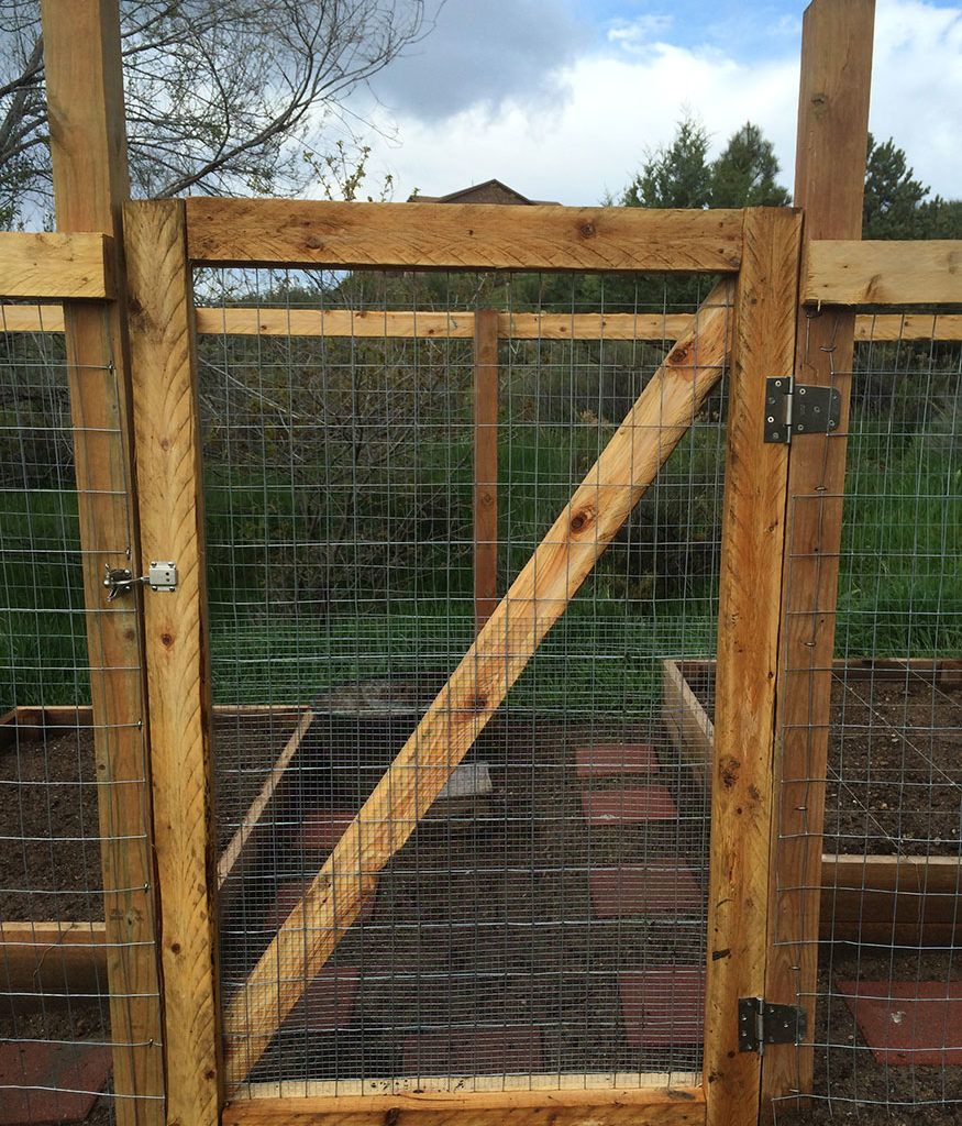 DIY Wooden Garden Fence Gate (15 Pictures in 2020 | Diy ...