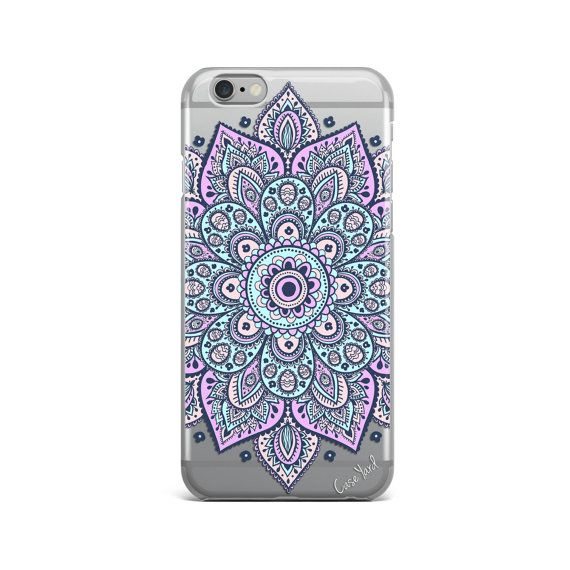 Dakota Mandala clear iphone case,mandala clear iphone 6s case,mandala clear iphone 6 case,iphone 5 case,clear iphone case,clear iphone cases