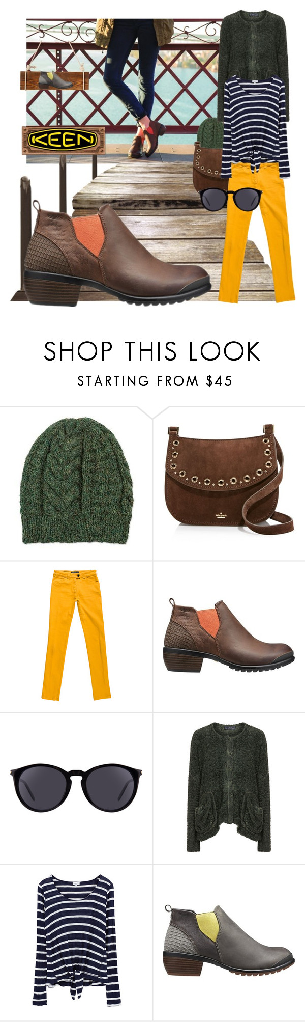 """So Fresh and So Keen: Contest Entry (v1, v2)"" by zeepanda ❤ liked on Polyvore featuring NOVICA, Kate Spade, Balenciaga, Keen Footwear, Yves Saint Laurent, Barbara Speer, Splendid and keen"