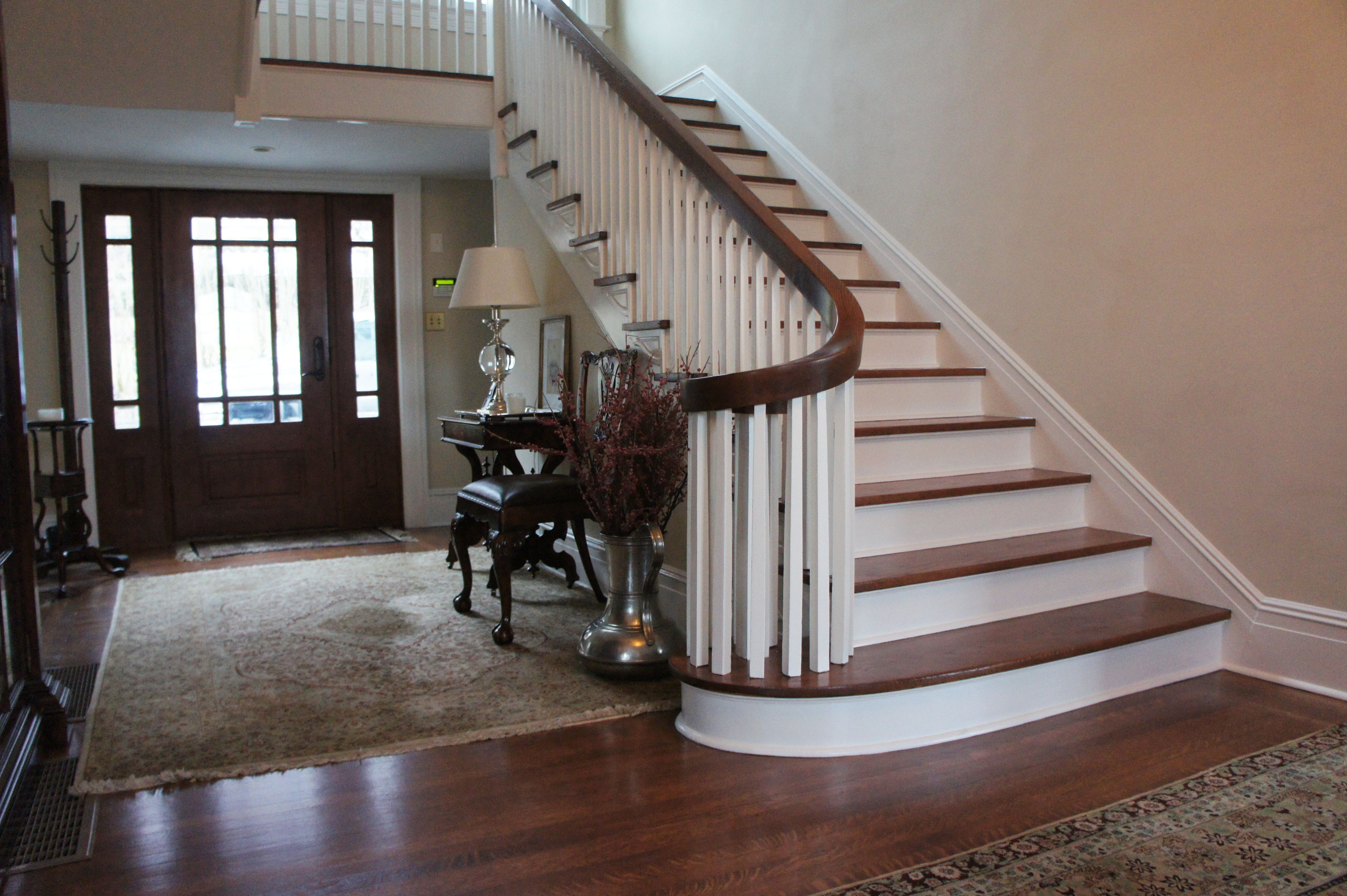 Staircase And Handrail Repair Refinishing Replacement