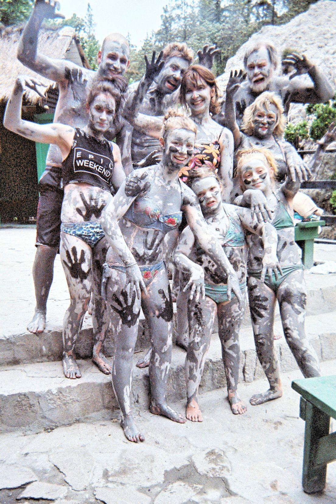 The mud bath gang