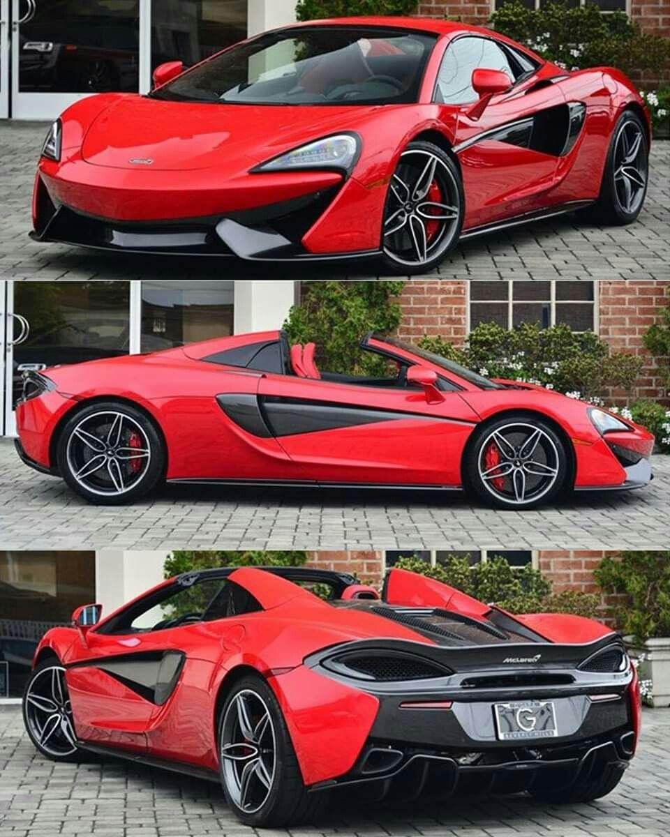 2019 Mclaren 570s Spider Sports Cars Ferrari Mclaren Cars Super Cars