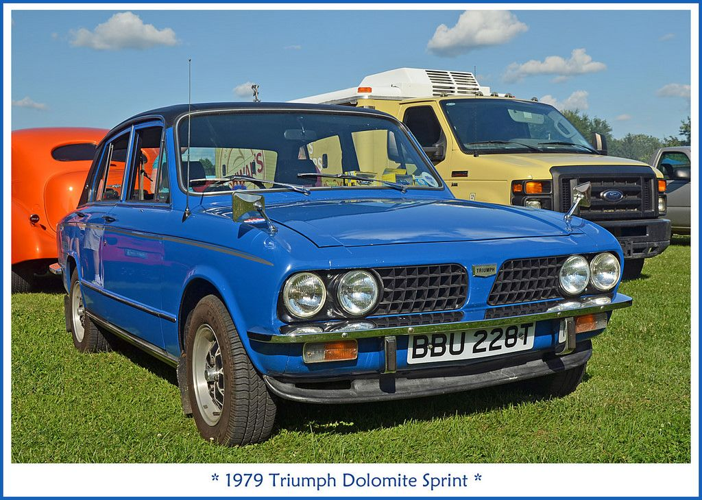 1979 triumph dolomite sprint with images classic cars