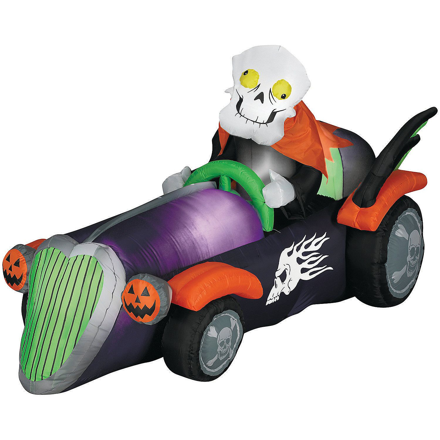 Airblown Skelly Racer Halloween