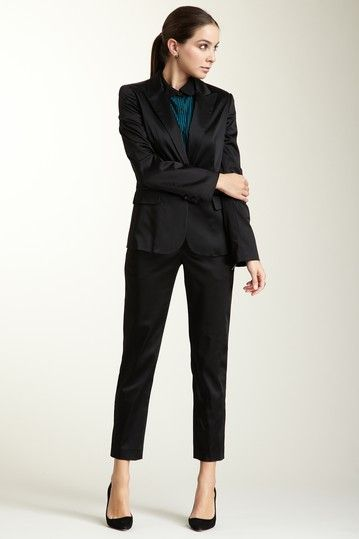 Aidan Mattox Satin Pant by Get The Trend on @HauteLook