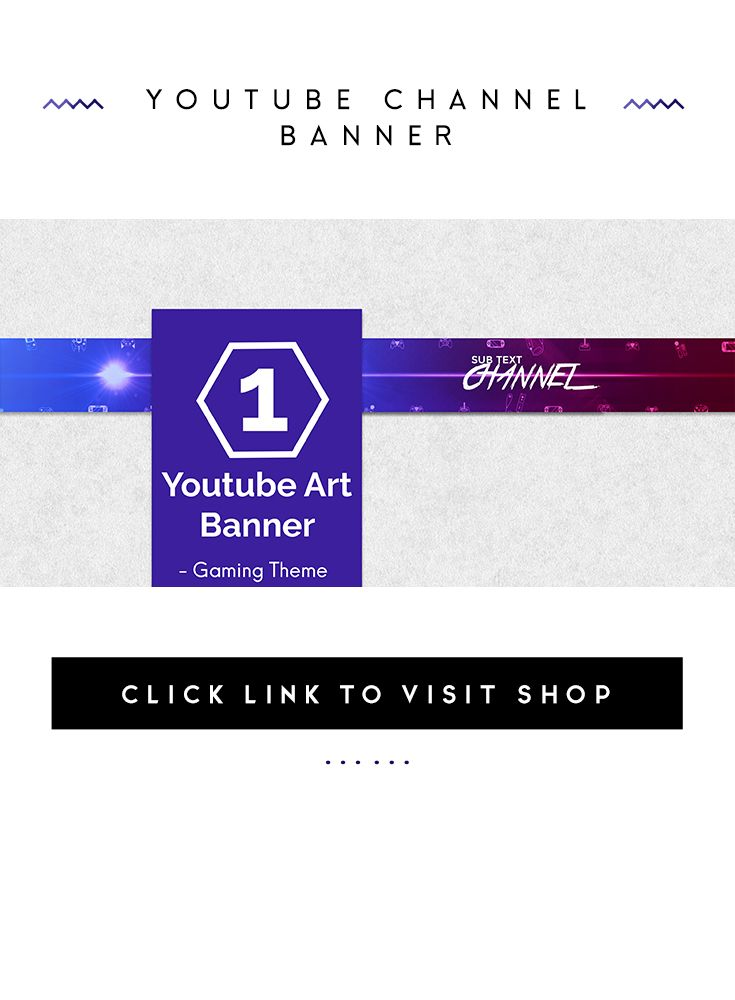 Youtube Banner, Youtube Channel, Channel Art, Youtube