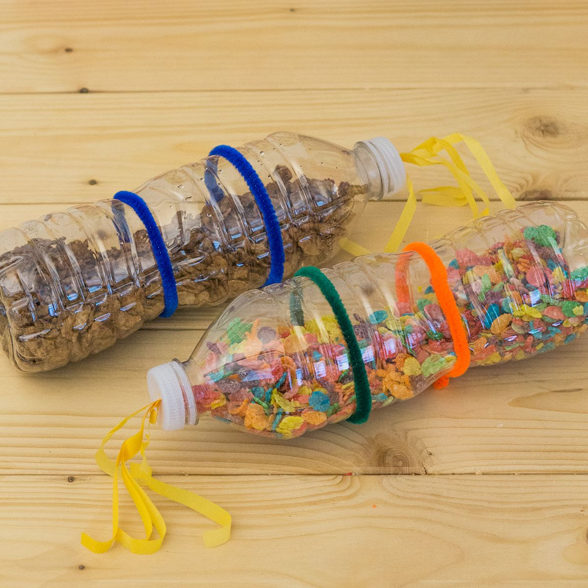 Make these fruitypebbles and cocoapebbles musical shakers with make these fruitypebbles and cocoapebbles musical shakers with your kids add the pebbles cereal of your choice into an empty water bottle and decorate ccuart Images