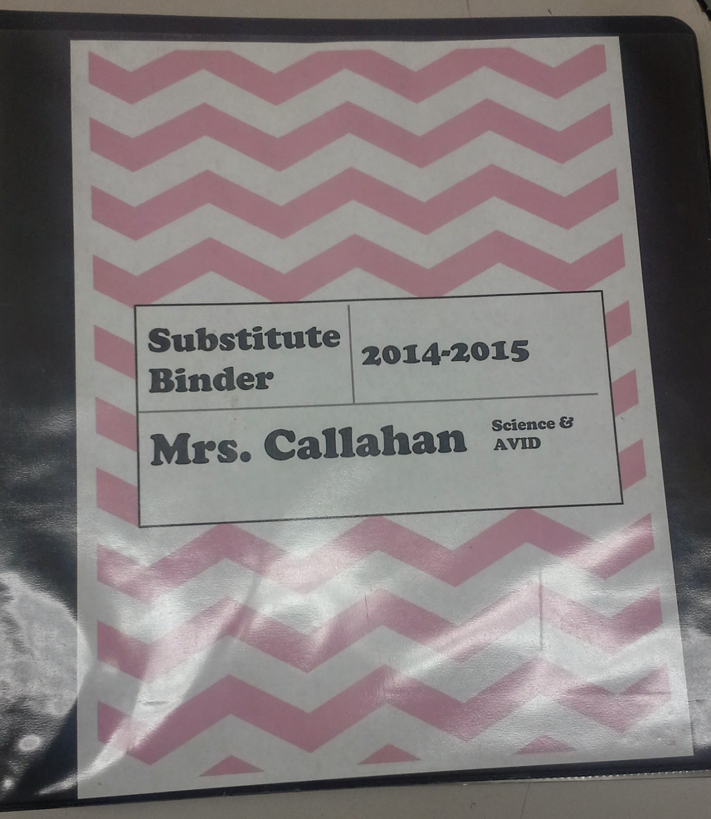 Ideas For A Substitute Binder. All The Things A Sub Would