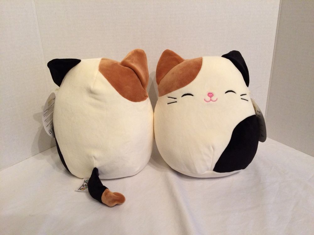 Squishmallow Selling Out Cam Calico Cat Cameron Kellytoy Hot Christmas Toy 8in