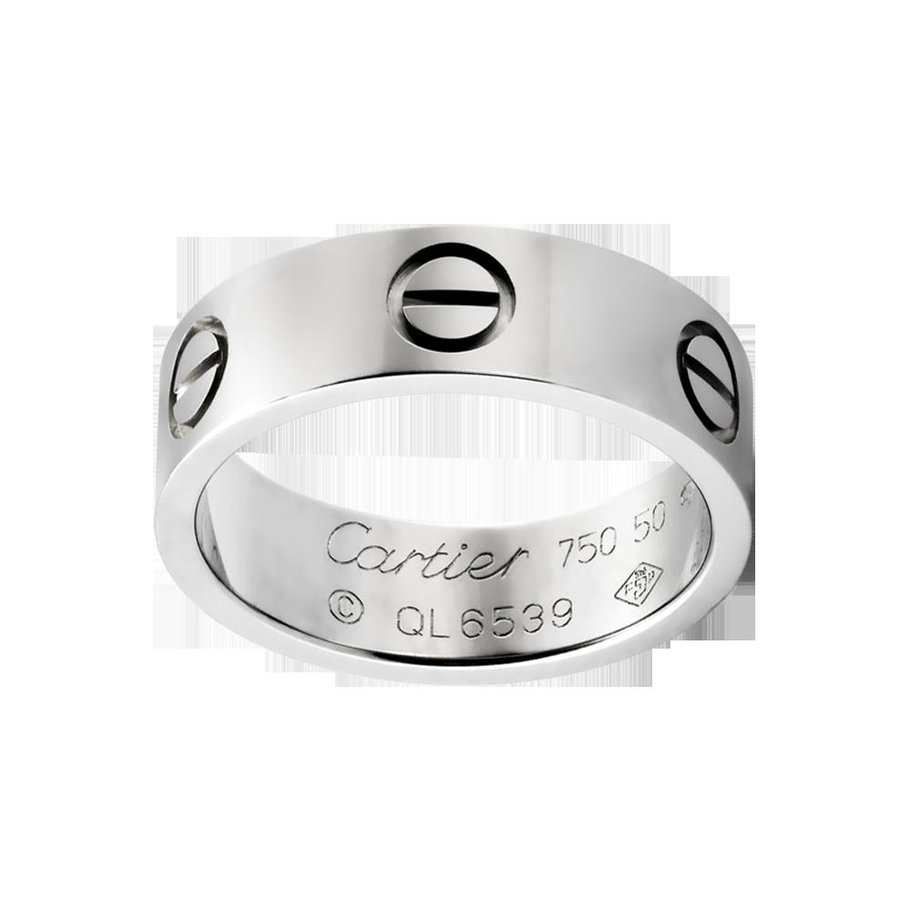 LOVE ring - Rings White gold - Fine Rings for women ...